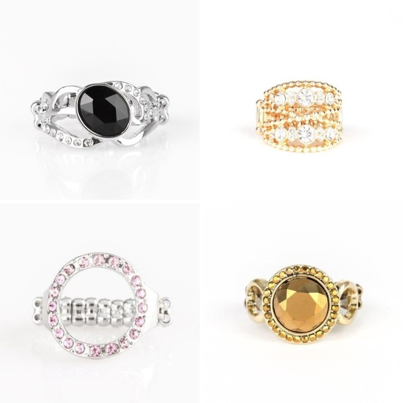 4 Paparazzi rings for the price of 3!